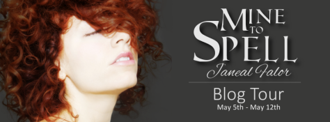 Mine to Spell Blog Tour Banner