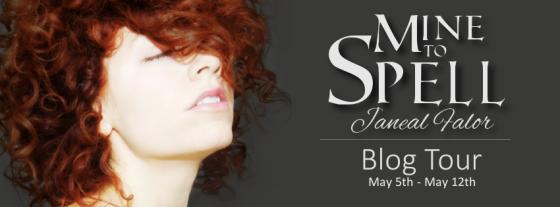 Mine to Spell Blog Tour Banner